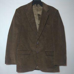 Alan Flusser Corduroy Camel Jacket/Blazer